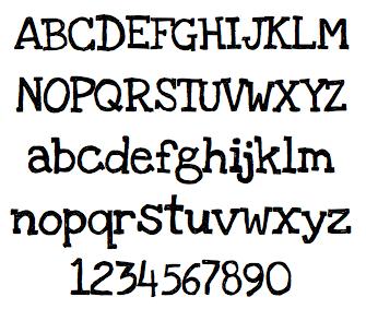 LoveYaLikeASister font