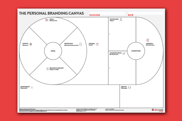 personal branding canvas thumbnail
